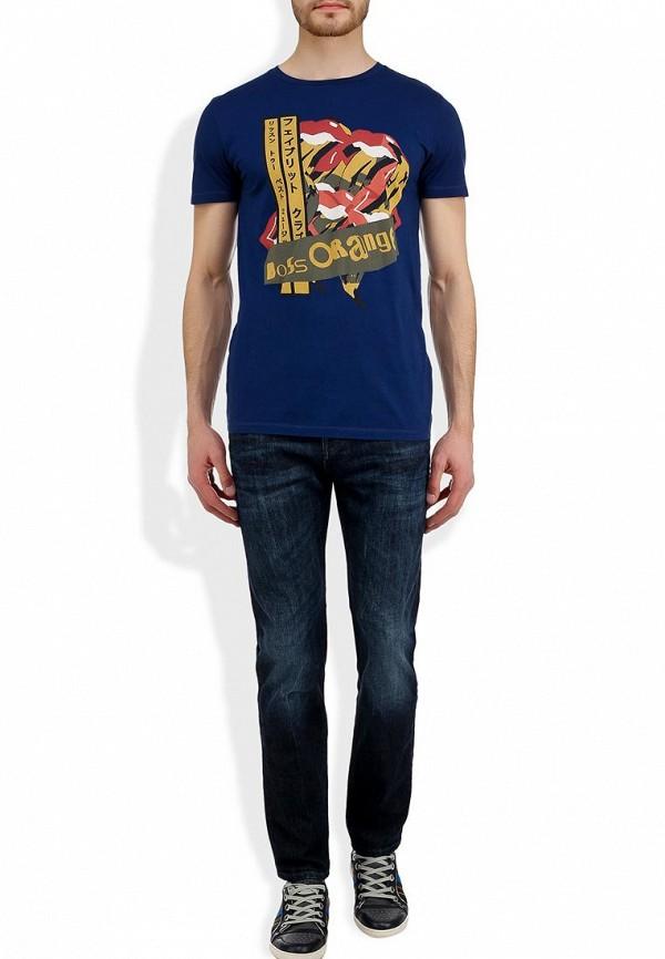 Мужские прямые джинсы Boss Orange 50260779: изображение 6