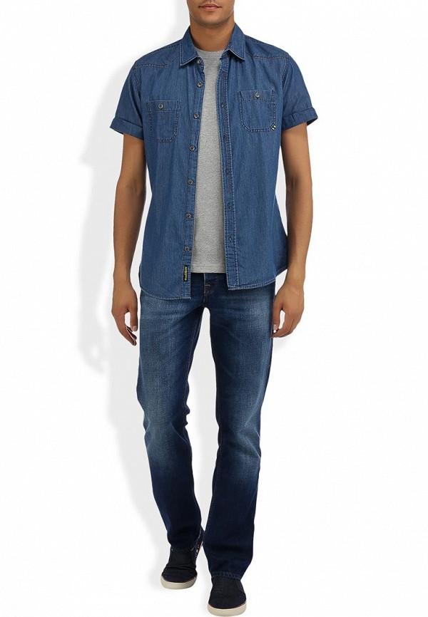 Мужские прямые джинсы Boss Orange 50260807: изображение 9
