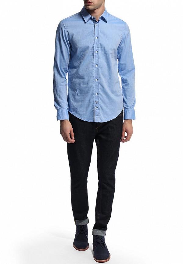 Рубашка с длинным рукавом Boss Orange 50270471: изображение 5