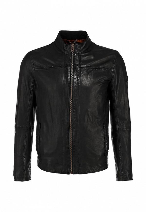 Кожаная куртка Boss Orange 50271207: изображение 1