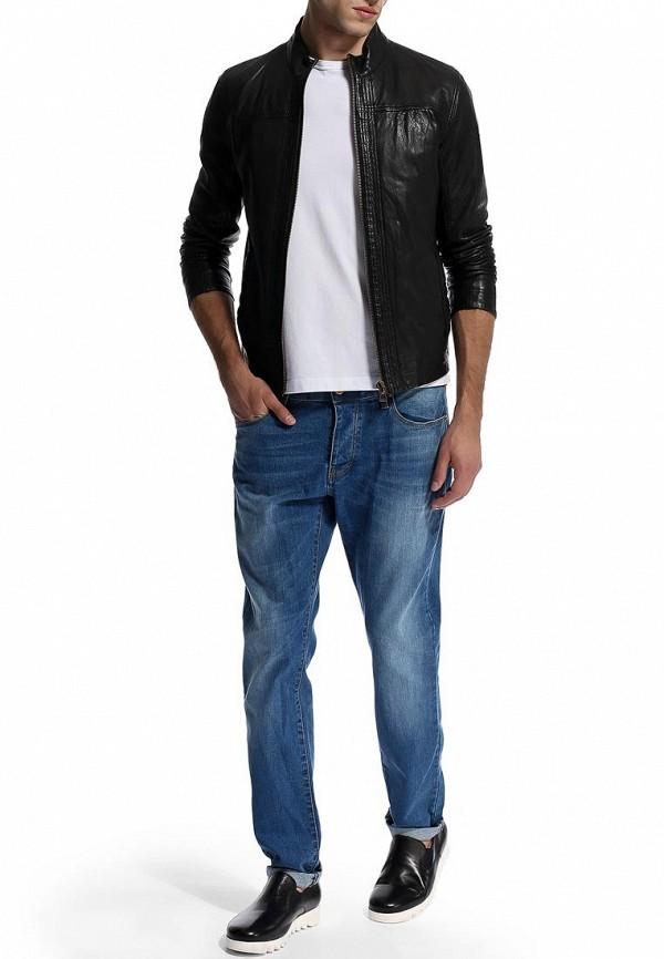 Кожаная куртка Boss Orange 50271207: изображение 9