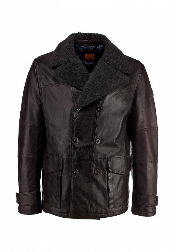 Кожаная куртка Boss Orange 50271199: изображение 1