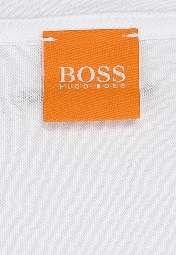 Футболка с надписями Boss Orange 50271010: изображение 3