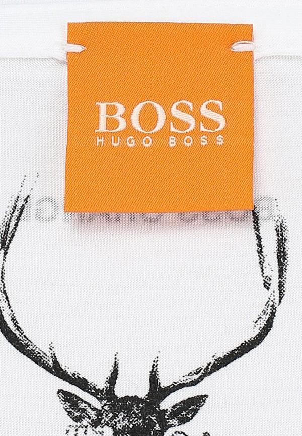Футболка с фотопринтами Boss Orange 50271008: изображение 3