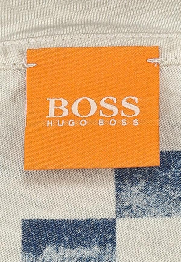 Футболка с надписями Boss Orange 50270994: изображение 4