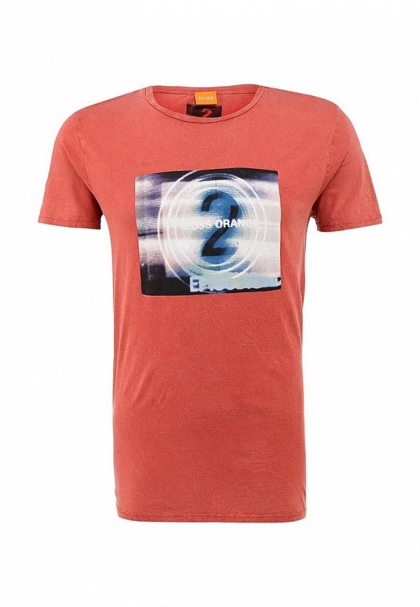 Футболка с фотопринтами Boss Orange 50271001: изображение 1