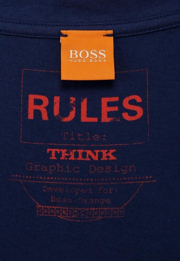Футболка с надписями Boss Orange 50271042: изображение 3