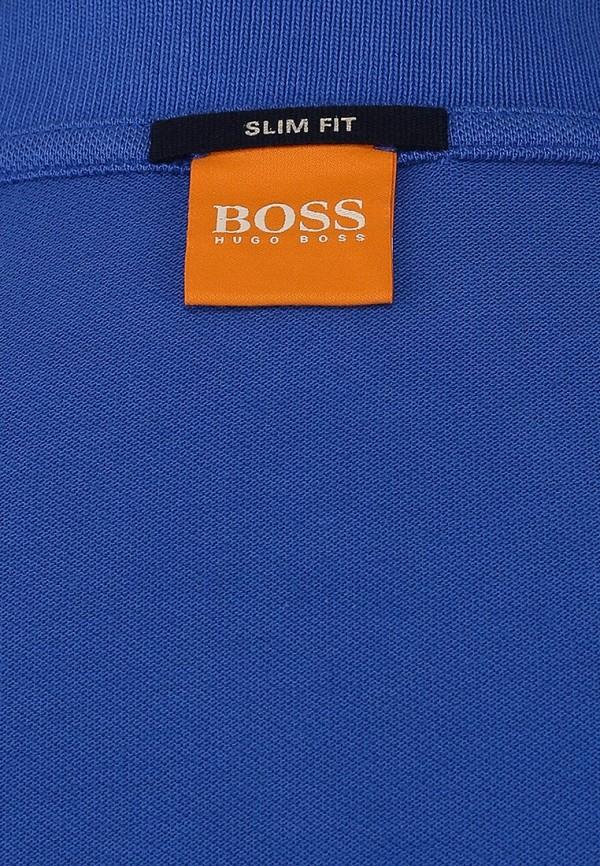 Мужские поло Boss Orange 50249531: изображение 4