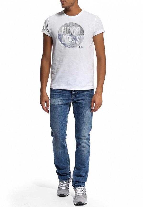Мужские прямые джинсы Boss Orange 50270767: изображение 5
