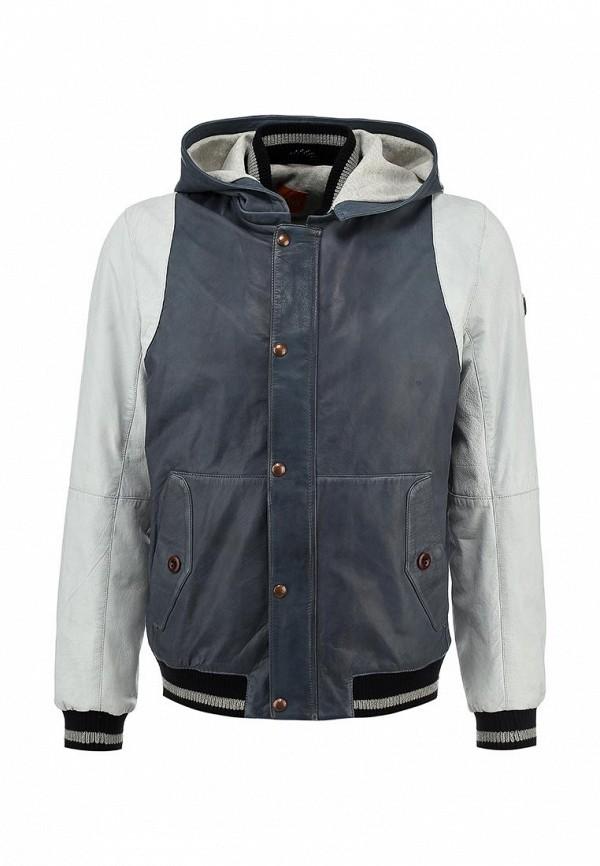 Кожаная куртка Boss Orange 50277959: изображение 1