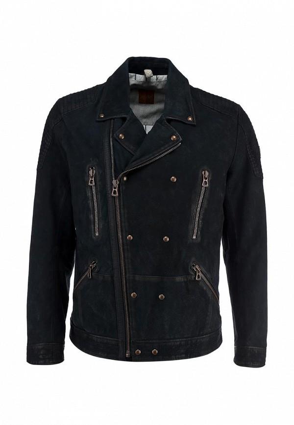 Кожаная куртка Boss Orange 50277963: изображение 2