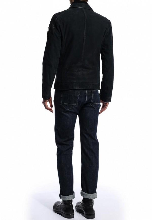 Кожаная куртка Boss Orange 50277963: изображение 4