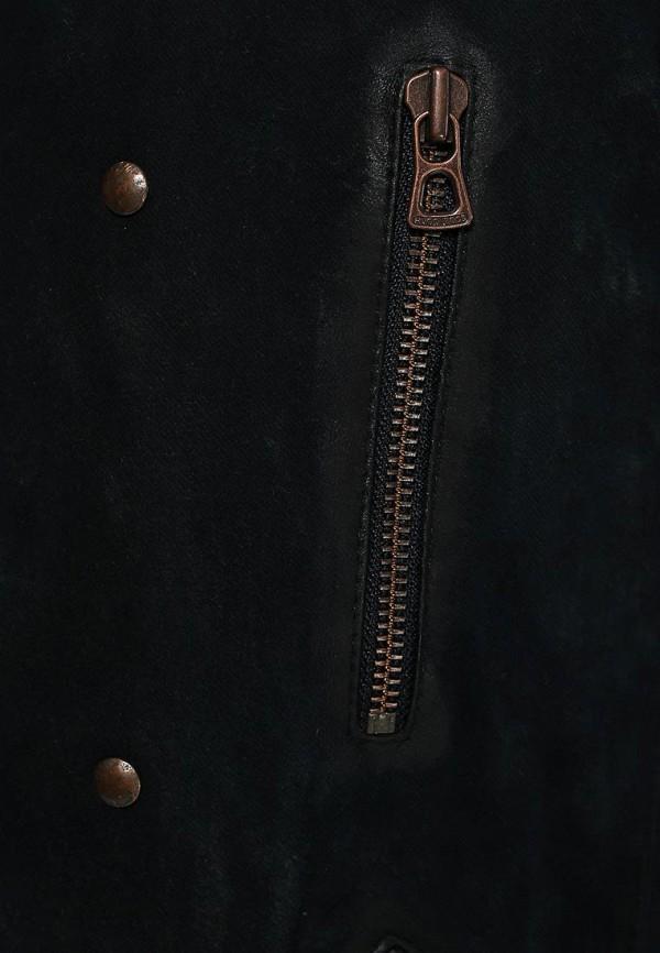 Кожаная куртка Boss Orange 50277963: изображение 6