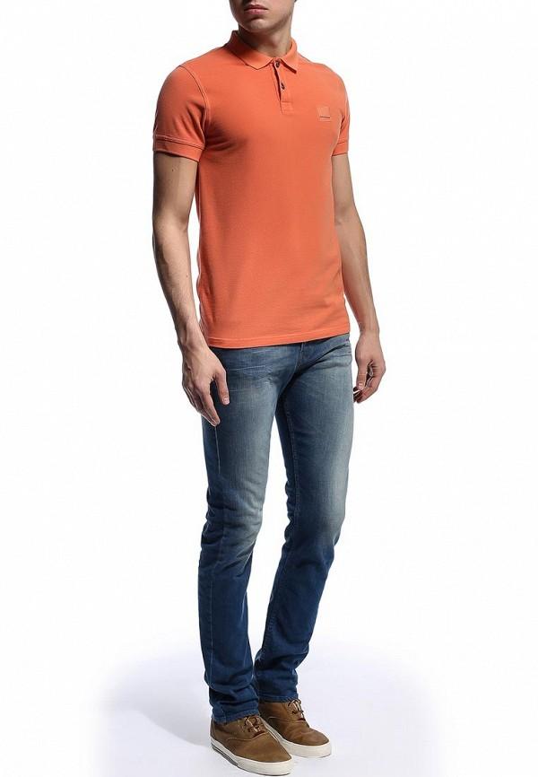 Мужские поло Boss Orange 50249531: изображение 6