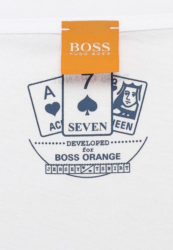Футболка с надписями Boss Orange 50276838: изображение 3