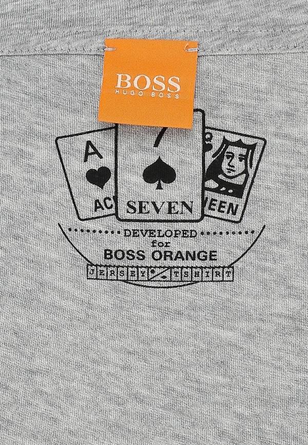 Футболка с надписями Boss Orange 50276838: изображение 2