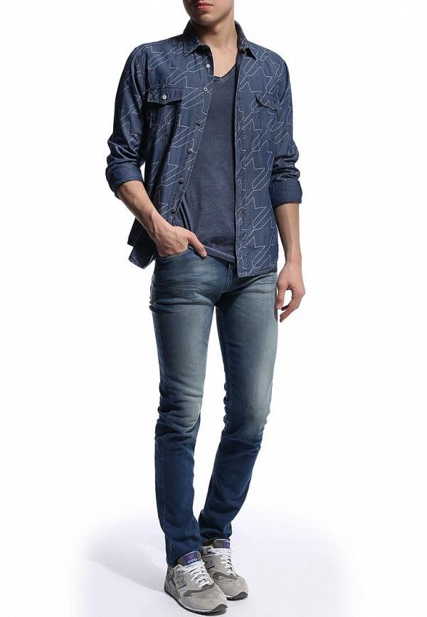 Зауженные джинсы Boss Orange 50276938: изображение 5