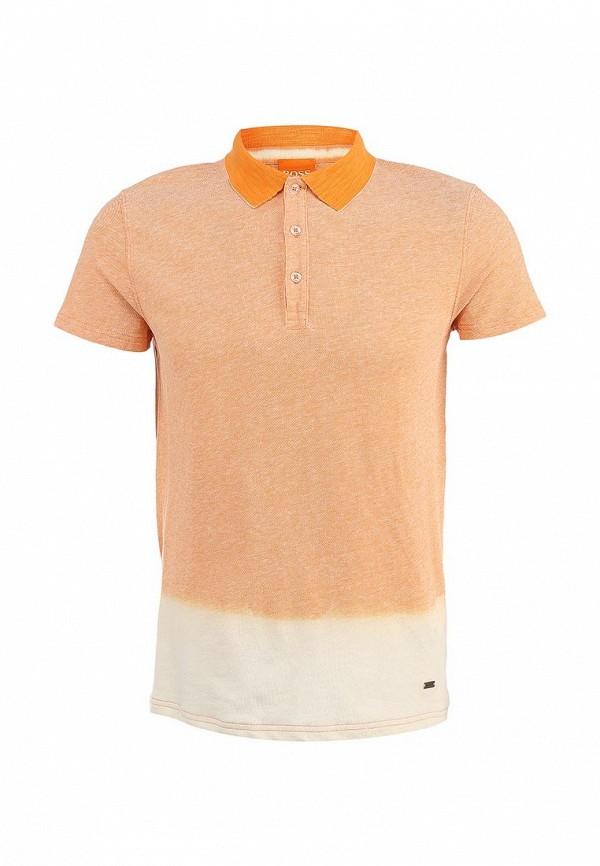 Мужские поло Boss Orange 50283704: изображение 2