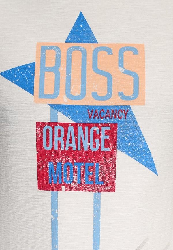 Футболка с надписями Boss Orange 50283676: изображение 6