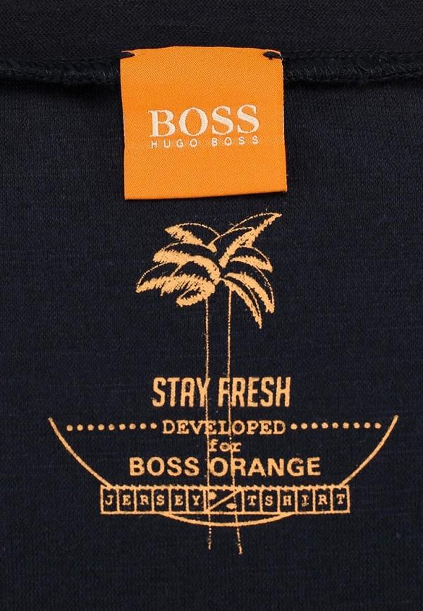 Футболка с надписями Boss Orange 50283679: изображение 3