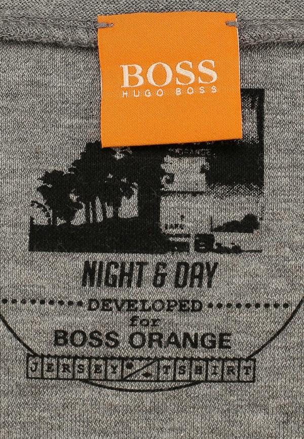 Футболка с надписями Boss Orange 50283677: изображение 3