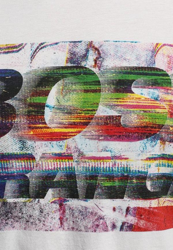 Футболка с надписями Boss Orange 50283656: изображение 7