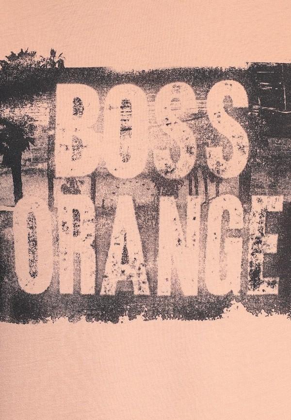 Футболка с надписями Boss Orange 50283637: изображение 6