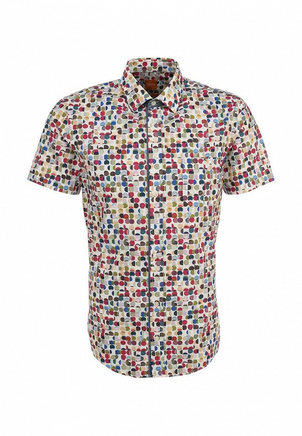 Рубашка с коротким рукавом Boss Orange 50282689: изображение 1