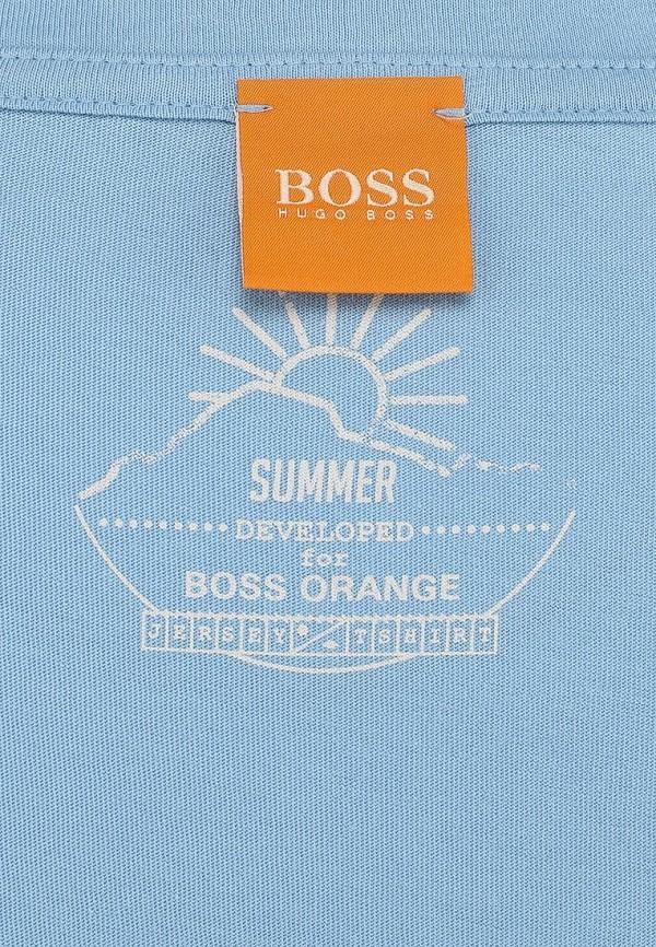 Футболка с надписями Boss Orange 50283640: изображение 3