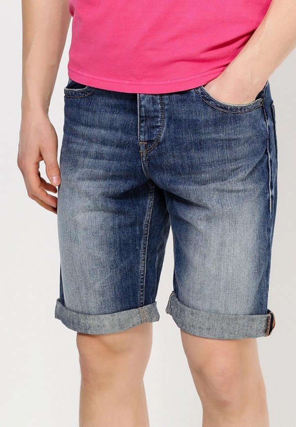 Мужские джинсовые шорты Boss Orange 50283116: изображение 2