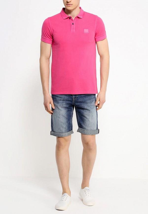 Мужские джинсовые шорты Boss Orange 50283116: изображение 3