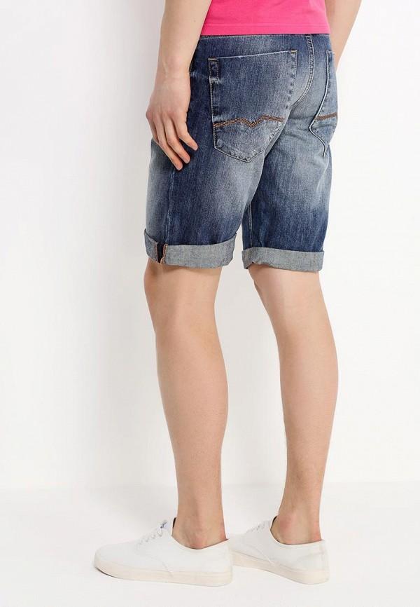 Мужские джинсовые шорты Boss Orange 50283116: изображение 4