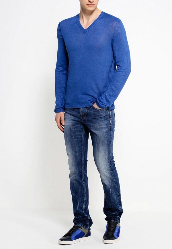 Зауженные джинсы Boss Orange 50283136: изображение 3