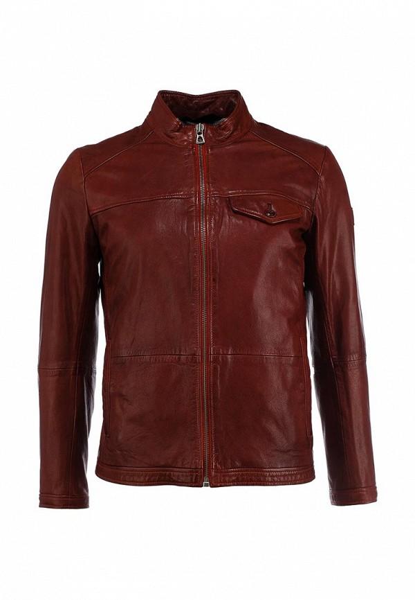 Кожаная куртка Boss Orange 50277954: изображение 1