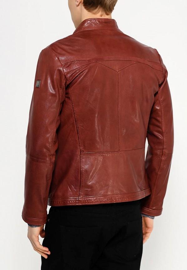 Кожаная куртка Boss Orange 50277954: изображение 2