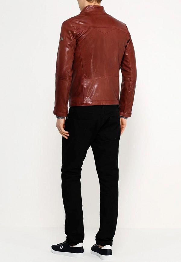 Кожаная куртка Boss Orange 50277954: изображение 4