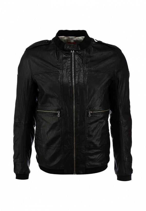 Кожаная куртка Boss Orange 50290106: изображение 2