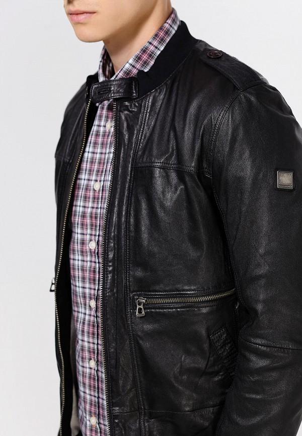 Кожаная куртка Boss Orange 50290106: изображение 3