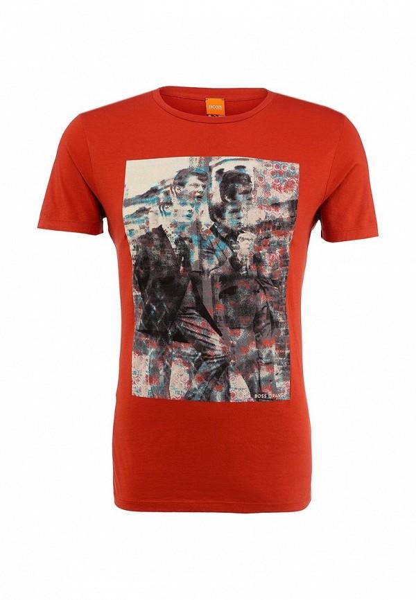 Футболка с фотопринтами Boss Orange 50290799: изображение 1