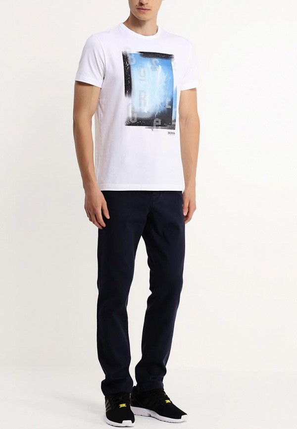 Мужские повседневные брюки Boss Orange 50289424: изображение 3