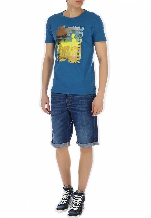Мужские джинсовые шорты Boss Orange 50238252: изображение 5