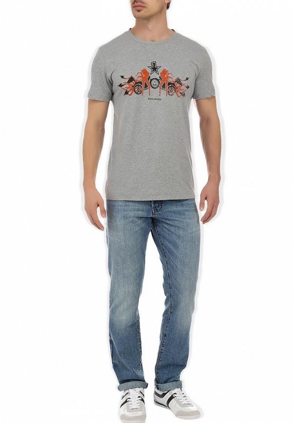 Зауженные джинсы Boss Orange 50245437: изображение 9