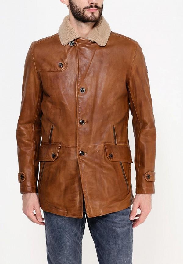 Кожаная куртка Boss Orange 50297057: изображение 3