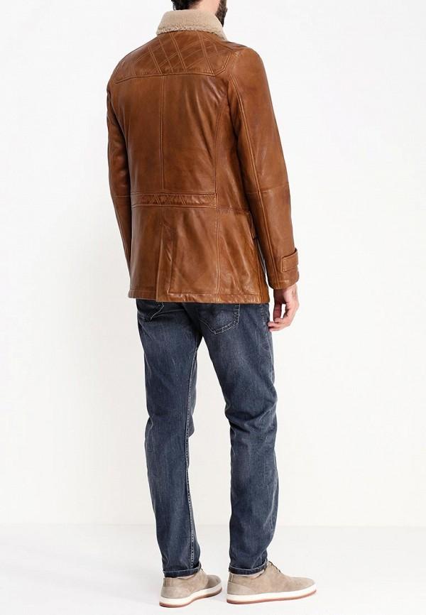 Кожаная куртка Boss Orange 50297057: изображение 5
