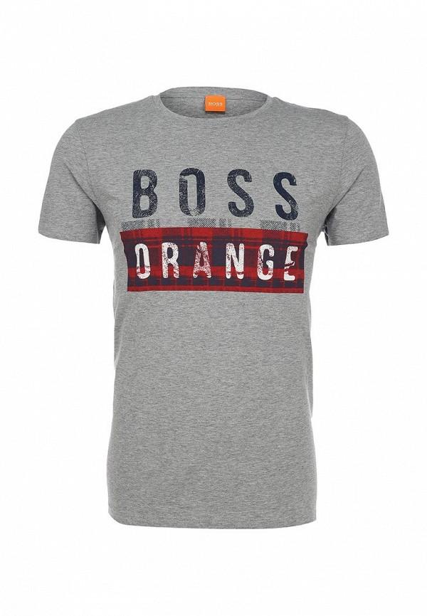Футболка с надписями Boss Orange 50296592: изображение 1