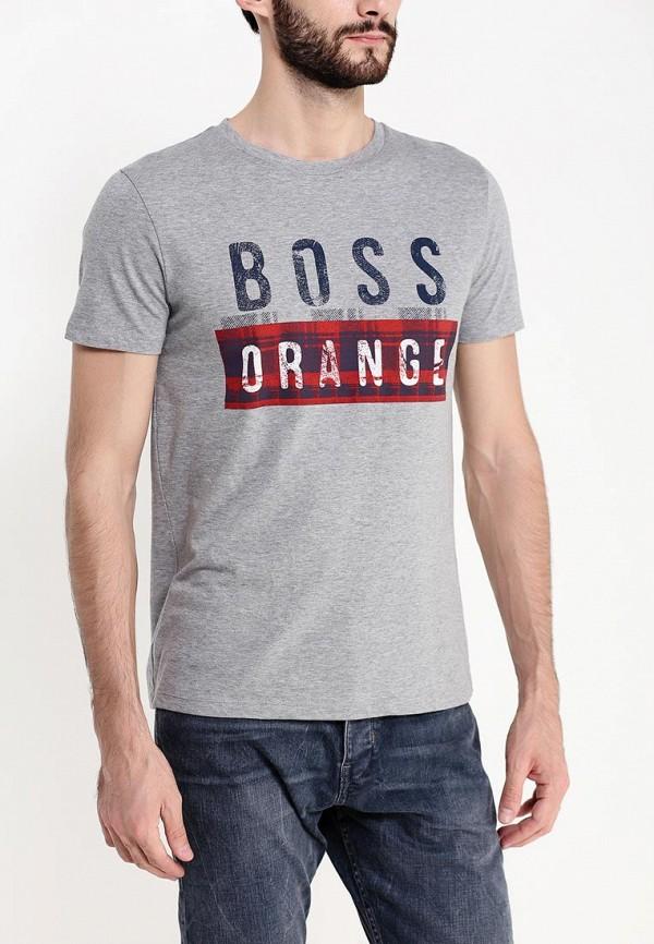 Футболка с надписями Boss Orange 50296592: изображение 3