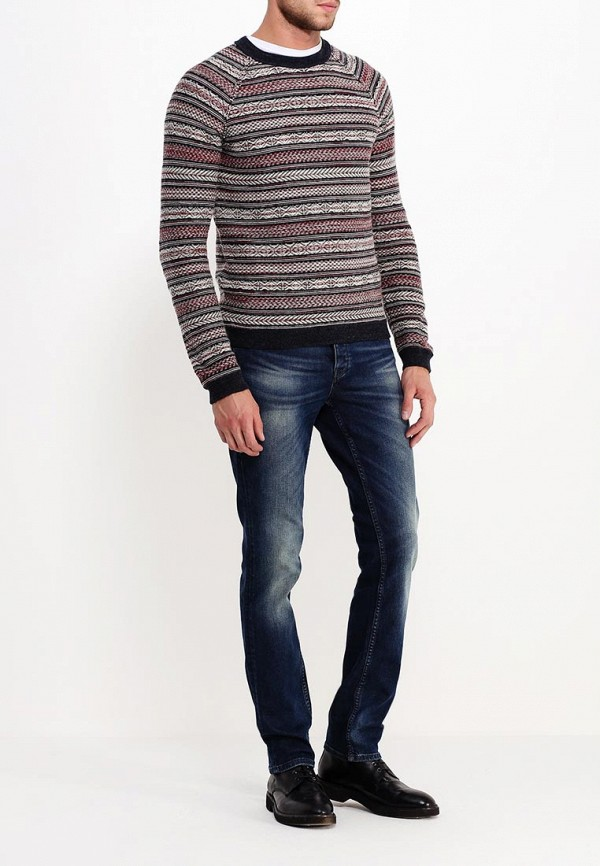 Мужские прямые джинсы Boss Orange 50299419: изображение 2