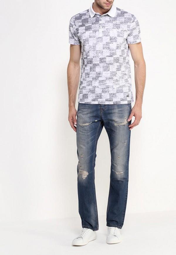 Мужские прямые джинсы Boss Orange 50290380: изображение 3