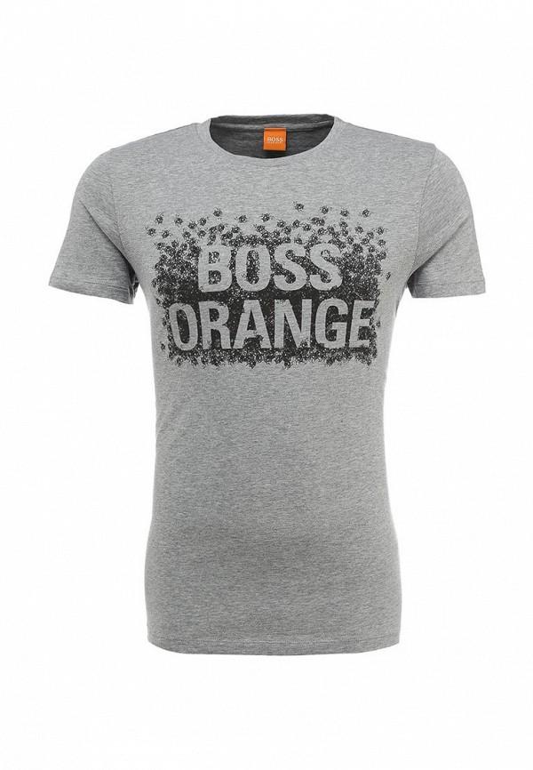 Футболка с надписями Boss Orange 50303433: изображение 1