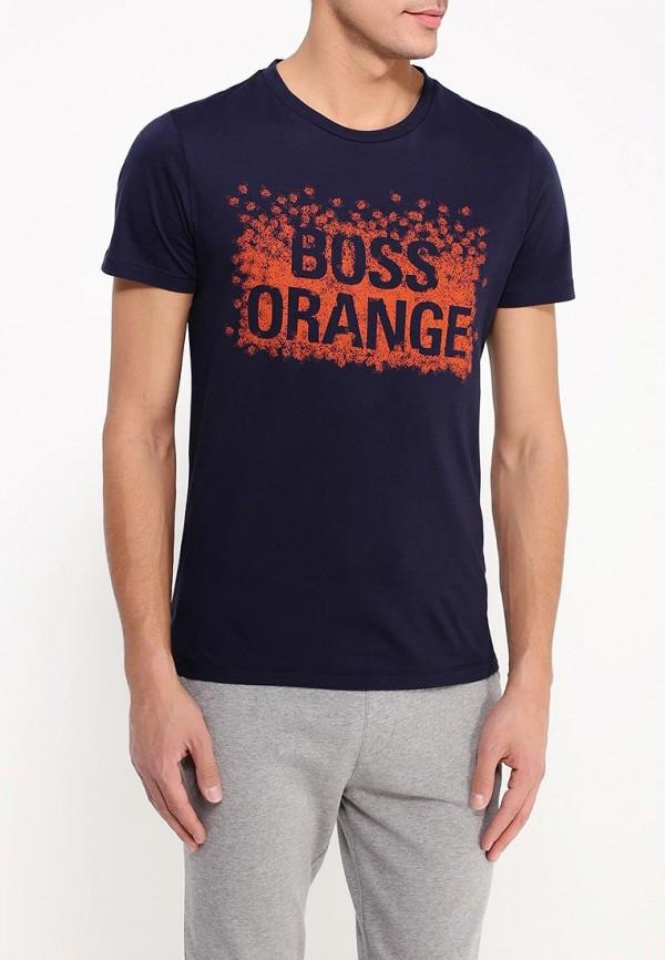 Футболка с надписями Boss Orange 50303433: изображение 4